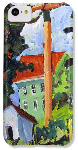 Big Power To The Whitehouse IPhone 5c Case by Charlie Spear