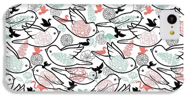 Bird Solid IPhone 5c Case by Elizabeth Taylor