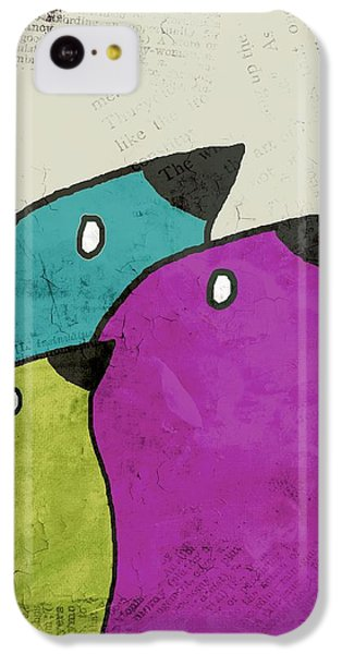 Birdies - V06c IPhone 5c Case by Variance Collections