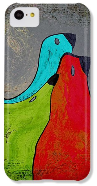 Birdies - V110b IPhone 5c Case by Variance Collections