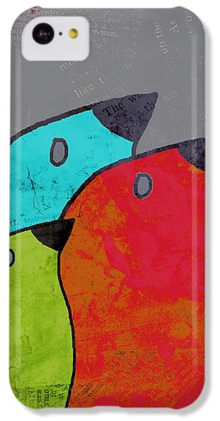 Birdies - V11b IPhone 5c Case by Variance Collections