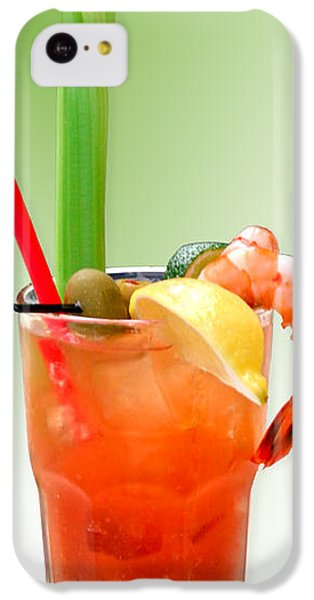 Bloody Mary Hand-crafted IPhone 5c Case by Christine Till