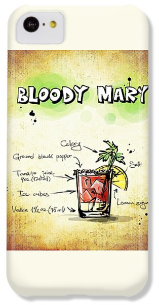 Bloody Mary IPhone 5c Case by Movie Poster Prints