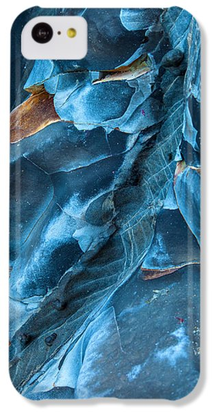 Blue Pattern 1 IPhone 5c Case by Jonathan Nguyen