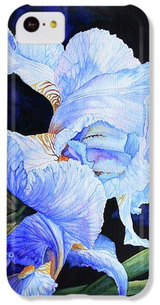 Blue Summer Iris IPhone 5c Case by Hanne Lore Koehler