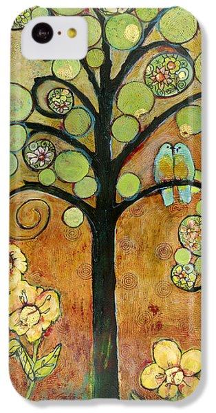 Bluebirds In Paradise Tree IPhone 5c Case by Blenda Studio