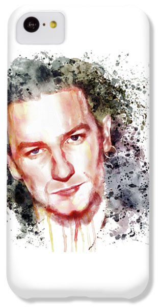 Bono Vox IPhone 5c Case by Marian Voicu