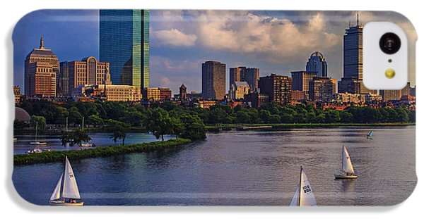 Boston Skyline IPhone 5c Case by Rick Berk