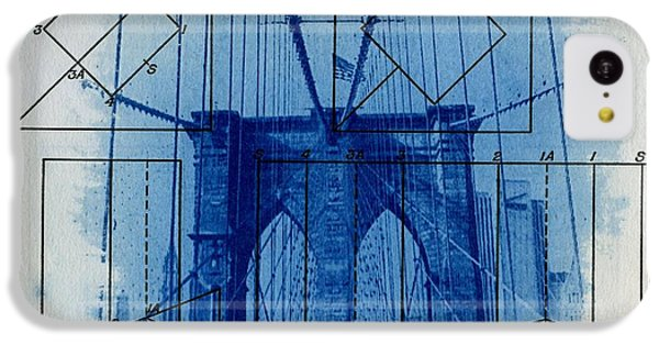 Brooklyn Bridge IPhone 5c Case by Jane Linders