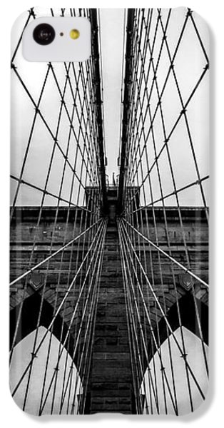 Brooklyn's Web IPhone 5c Case by Az Jackson