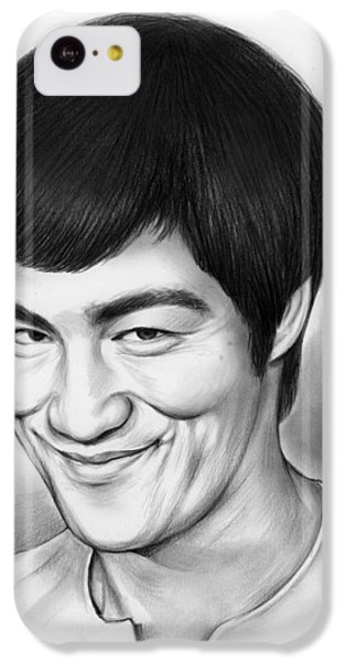 Bruce Lee IPhone 5c Case by Greg Joens