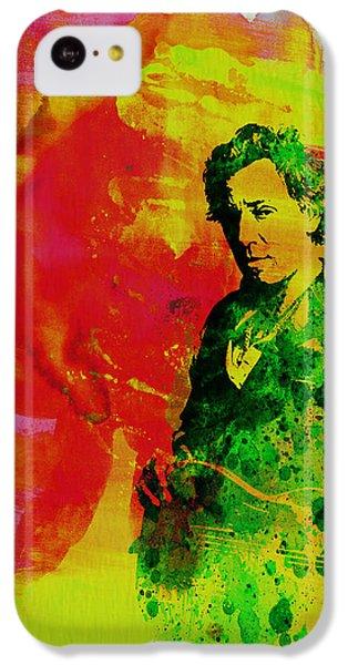 Bruce Springsteen IPhone 5c Case by Naxart Studio