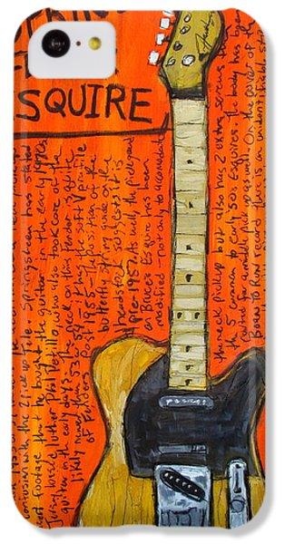 Bruce Springsteen's Fender Esquire IPhone 5c Case by Karl Haglund
