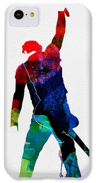 Bruce Watercolor IPhone 5c Case by Naxart Studio
