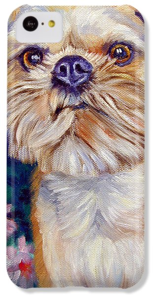 Brussels Griffon IPhone 5c Case by Lyn Cook