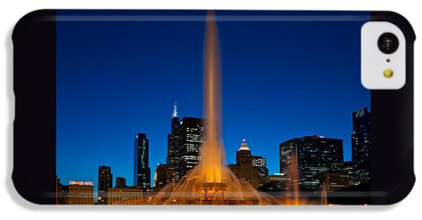Buckingham Fountain Nightlight Chicago IPhone 5c Case by Steve Gadomski