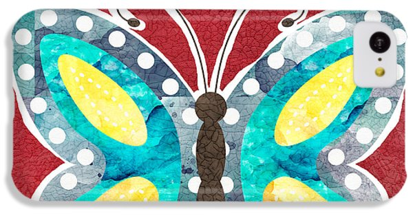 Butterfly Liberty IPhone 5c Case by Linda Woods