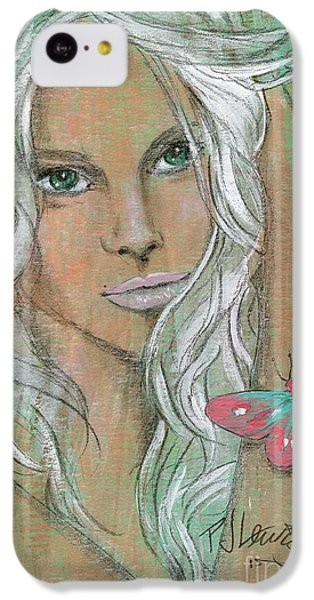 Butterfly IPhone 5c Case by P J Lewis