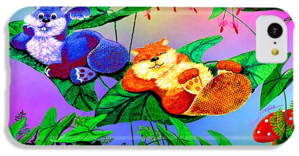 Bye-bye Beaver Buddy IPhone 5c Case by Hanne Lore Koehler