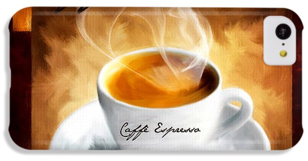 Caffe Espresso IPhone 5c Case by Lourry Legarde