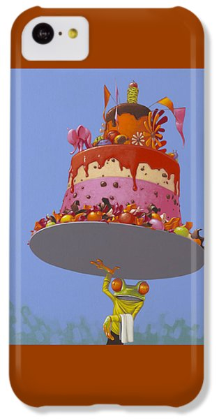 Cake IPhone 5c Case by Jasper Oostland