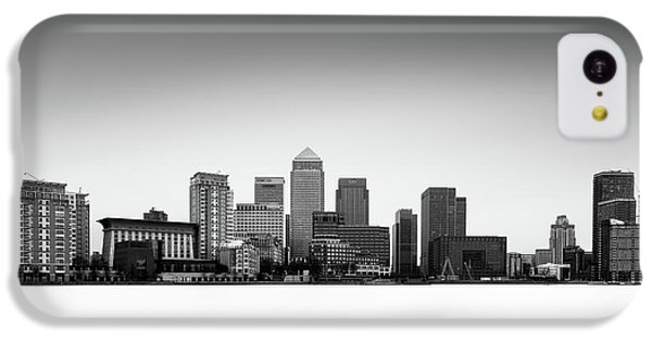 Canary Wharf Skyline IPhone 5c Case by Ivo Kerssemakers