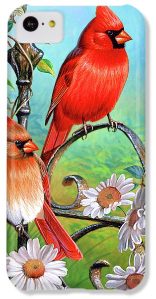 Cardinal Day 3 IPhone 5c Case by JQ Licensing