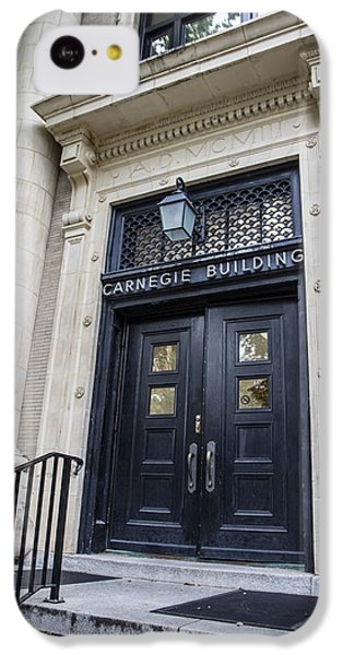 Carnegie Building Penn State  IPhone 5c Case by John McGraw