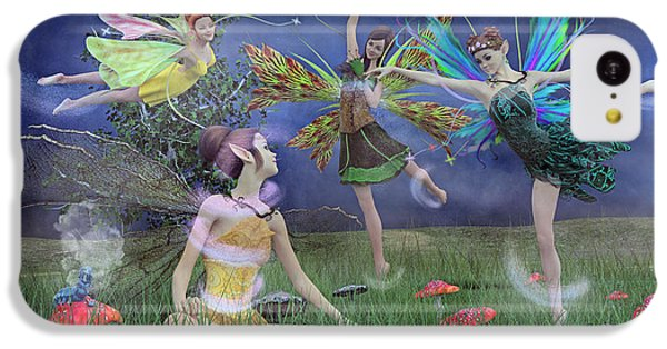 Celebration Of Night Alice And Oz IPhone 5c Case by Betsy C Knapp