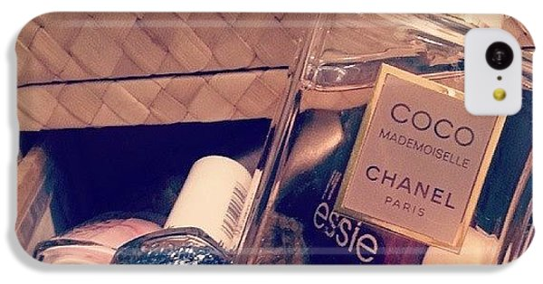 Chanel iPhone 5C Cases - Chanel & Essie #chanel #smellslikemoney iPhone 5C Case by E F M