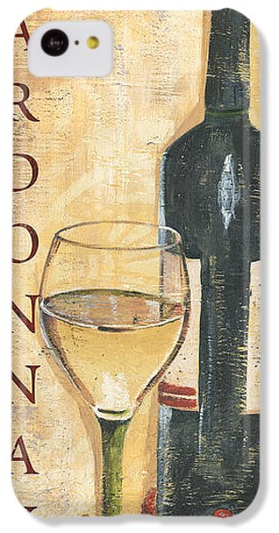 Chardonnay Wine And Grapes IPhone 5c Case by Debbie DeWitt
