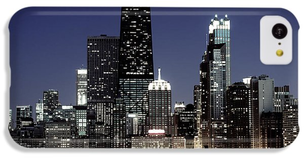 Chicago At Night High Resolution IPhone 5c Case by Paul Velgos