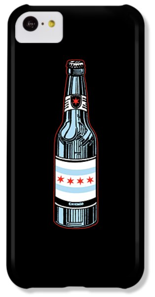 Chicago Beer IPhone 5c Case by Mike Lopez