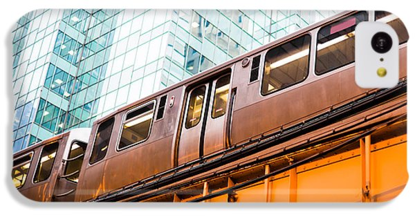Chicago L Elevated Train  IPhone 5c Case by Paul Velgos