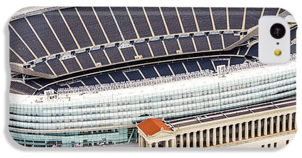 Chicago Soldier Field Aerial Photo IPhone 5c Case by Paul Velgos