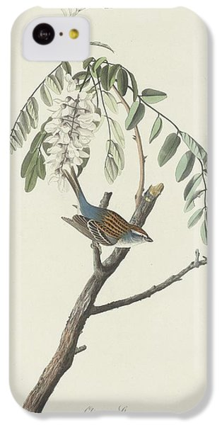 Chipping Sparrow IPhone 5c Case by John James Audubon
