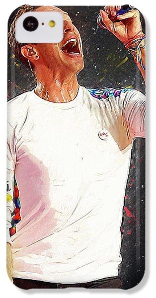 Chris Martin - Coldplay IPhone 5c Case by Semih Yurdabak