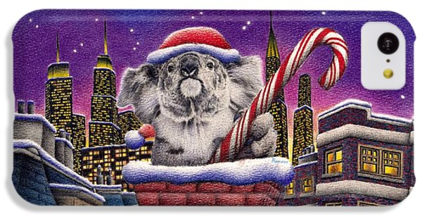 Christmas Koala In Chimney IPhone 5c Case by Remrov