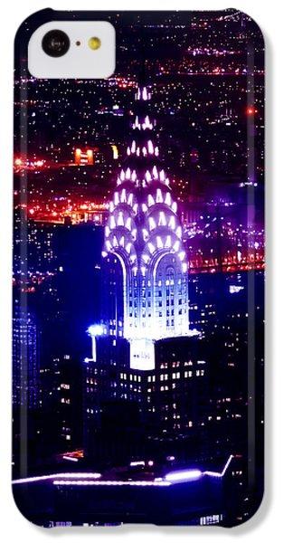 Chrysler Building At Night IPhone 5c Case by Az Jackson