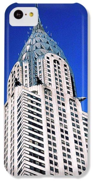 Chrysler Building IPhone 5c Case by John Greim