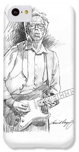 Clapton Riff IPhone 5c Case by David Lloyd Glover