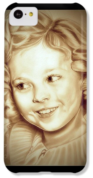 Classic Shirley Temple IPhone 5c Case by Fred Larucci