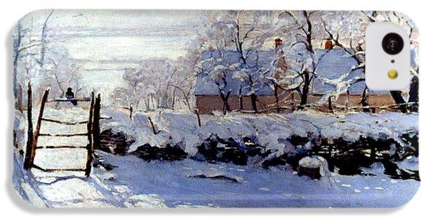 Claude Monet: The Magpie IPhone 5c Case by Granger