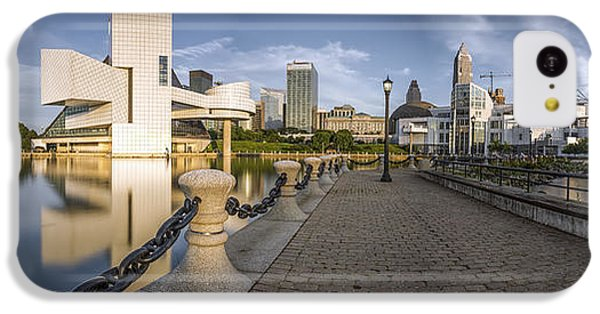 Cleveland Panorama IPhone 5c Case by James Dean