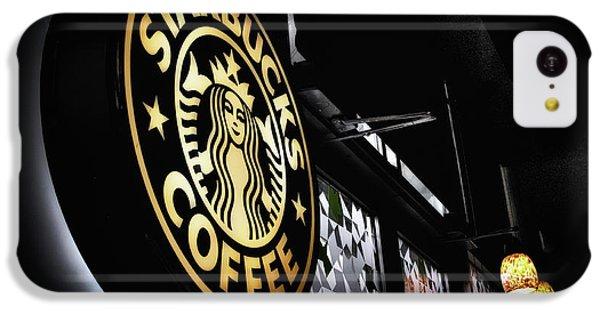Coffee Break IPhone 5c Case by Spencer McDonald