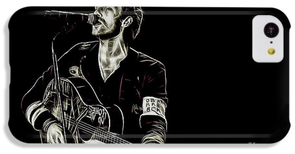 Coldplay Collection Chris Martin IPhone 5c Case by Marvin Blaine