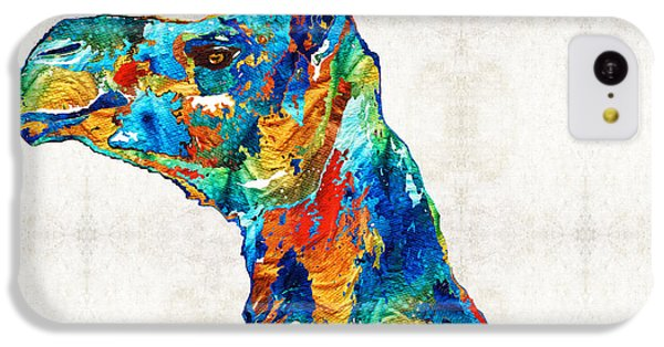 Colorful Camel Art By Sharon Cummings IPhone 5c Case by Sharon Cummings