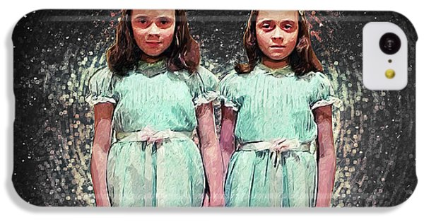 Come Play With Us - The Shining Twins IPhone 5c Case by Taylan Apukovska