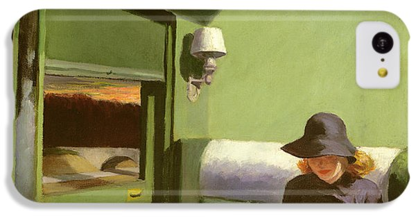 Compartment C IPhone 5c Case by Edward Hopper