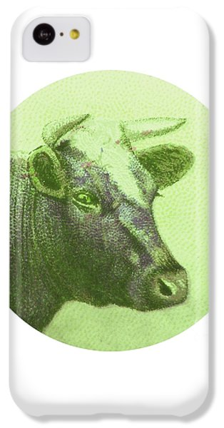 Cow II IPhone 5c Case by Desiree Warren